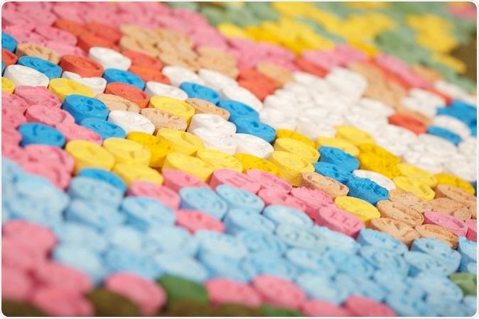 MDMA (Ecstasy). Image Credit: Couperfield / Shutterstock
