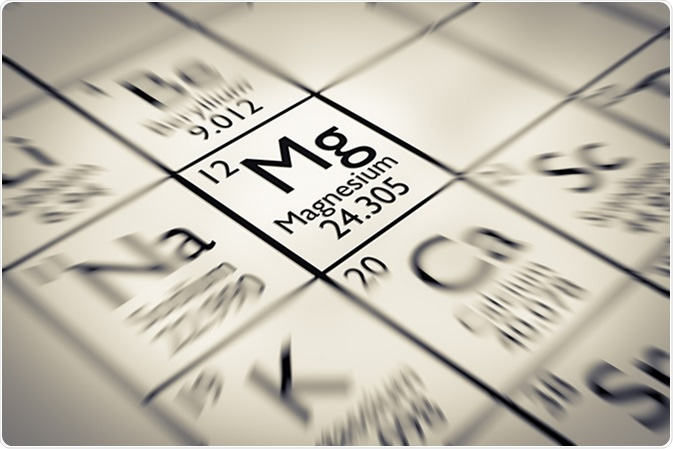 Magnesium Chemical Element. Image Credit: Antoine2K / Shutterstock