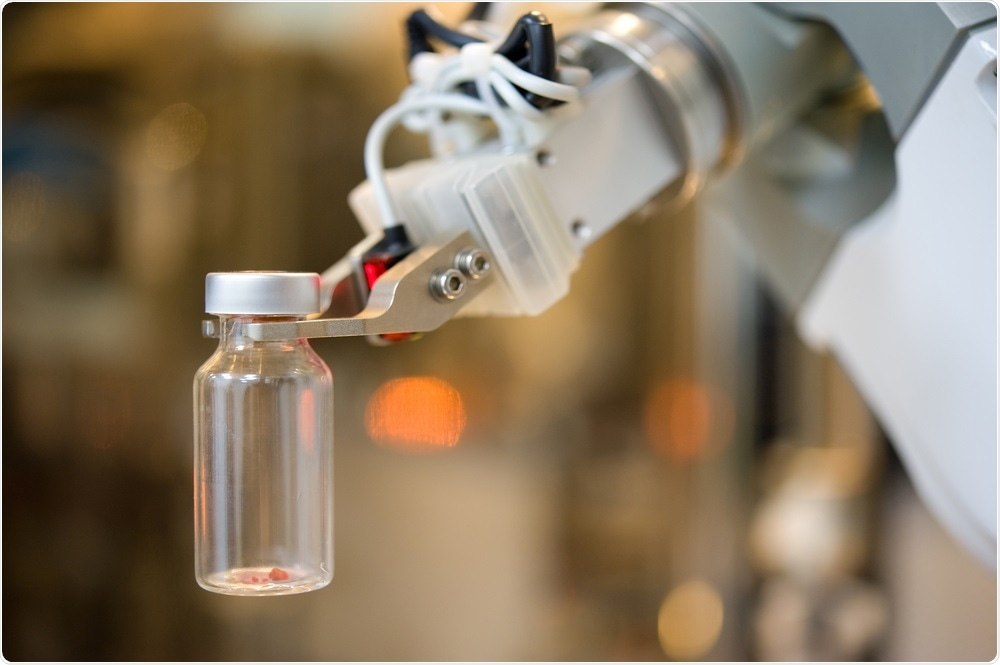 Automated liquid handling robot
