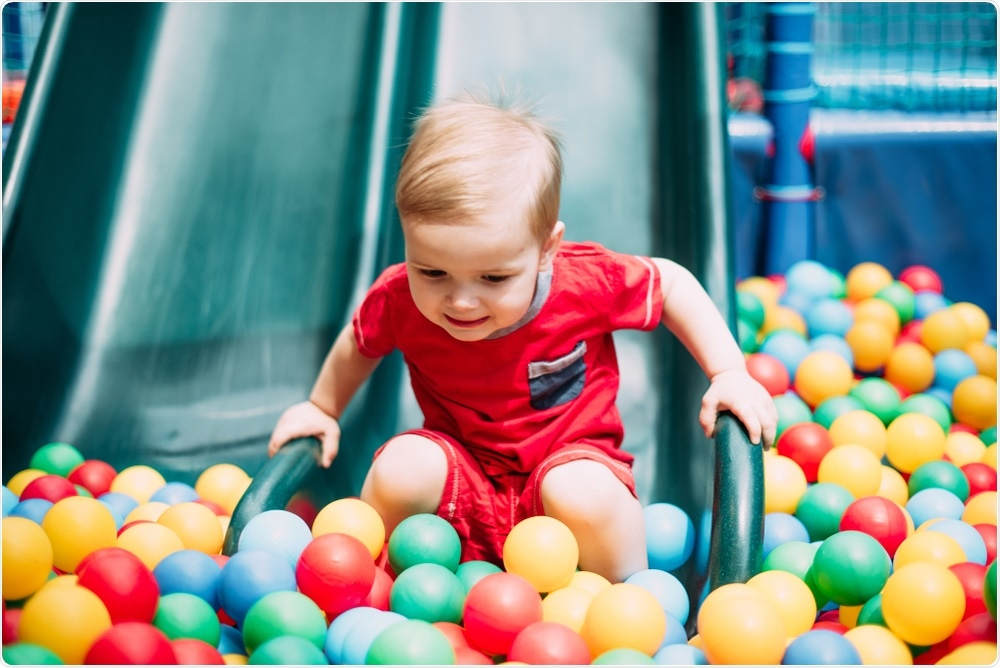 Children playing in ball pits may be at serious risk of microbial infection