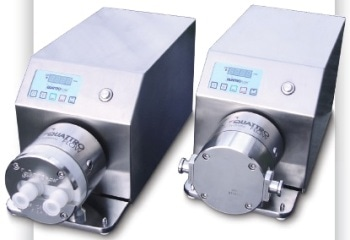 Quaternary Diaphragm Pumps for Biopharma Applications