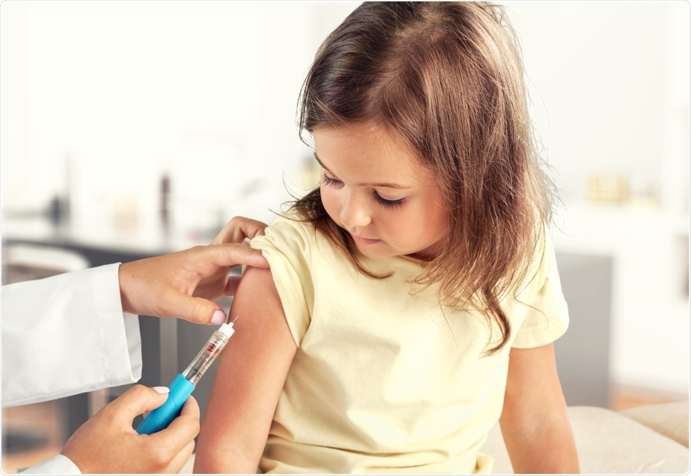 Vaccination rates for measles are at an all time low