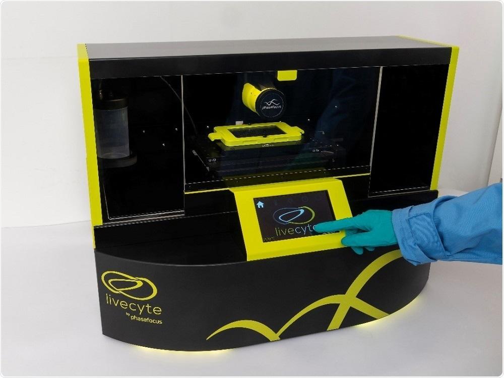 Phasefocus Livecyte 2 com tecnologia ESPERTA da incubação