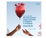 New campaign launched to raise awareness of organ donation law change in England