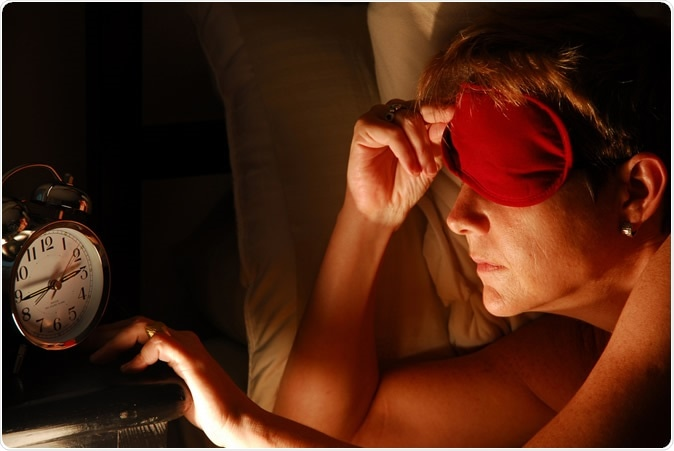 Work stress and poor sleep associated with heart disease . Image Credit: Karen Winton / Shutterstock