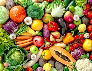 Higher fruit and vegetable intake associated with less stress