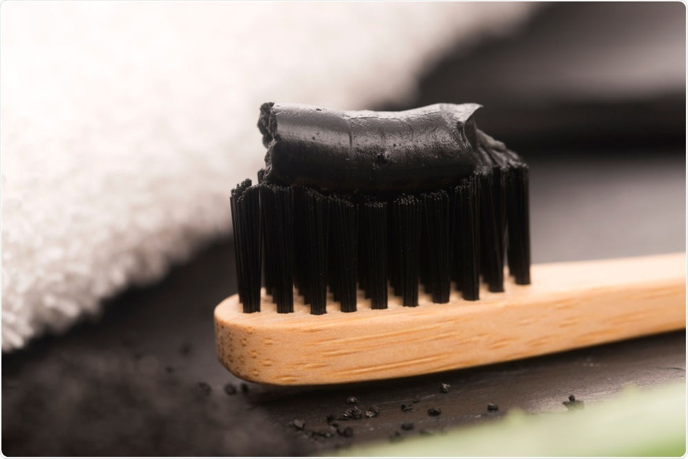 'No Scientific Evidence' for tooth whitening properties of charcoal-based toothpaste