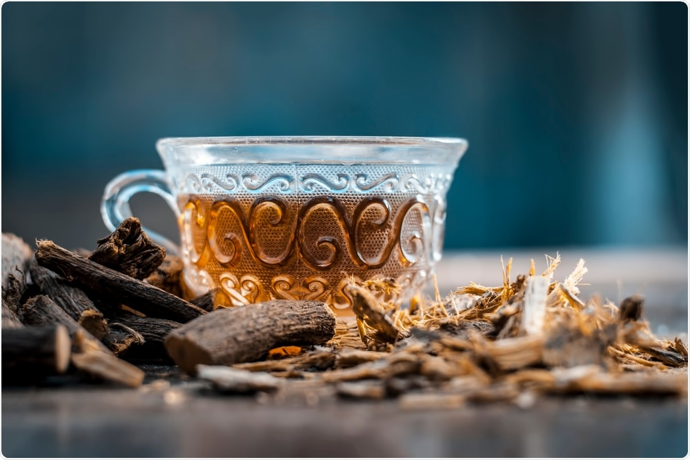 Licorice tea is a popular beverage.