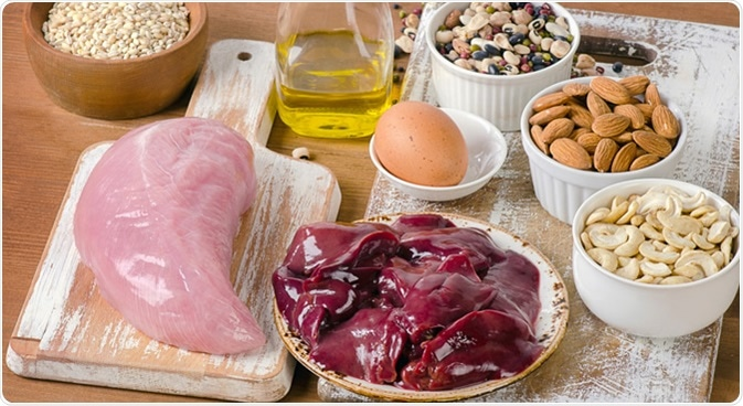 Foods containing selenium. Image Credit: Bitt24 / Shutterstock