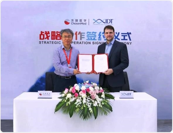 IDT enters into strategic cooperation with Chinese medical sequencing firm ChosenMed
