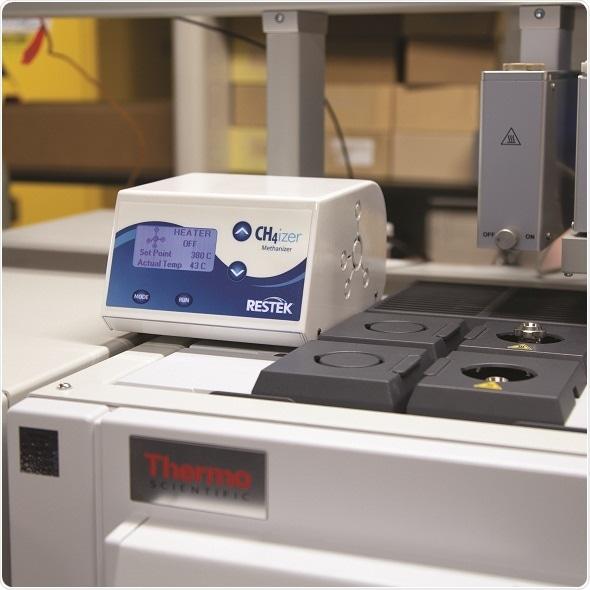 Restek libera a versão nova do methanizer para o TRAÇO Thermo 1300/1310 GCs