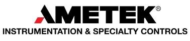 AMETEK - Instrumentation & Specialty Controls