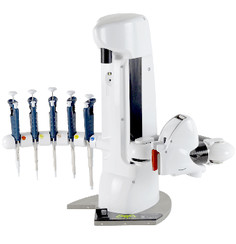 Automated Liquid Handling Robot for Volumes from 0.2 μL to 1000 μL