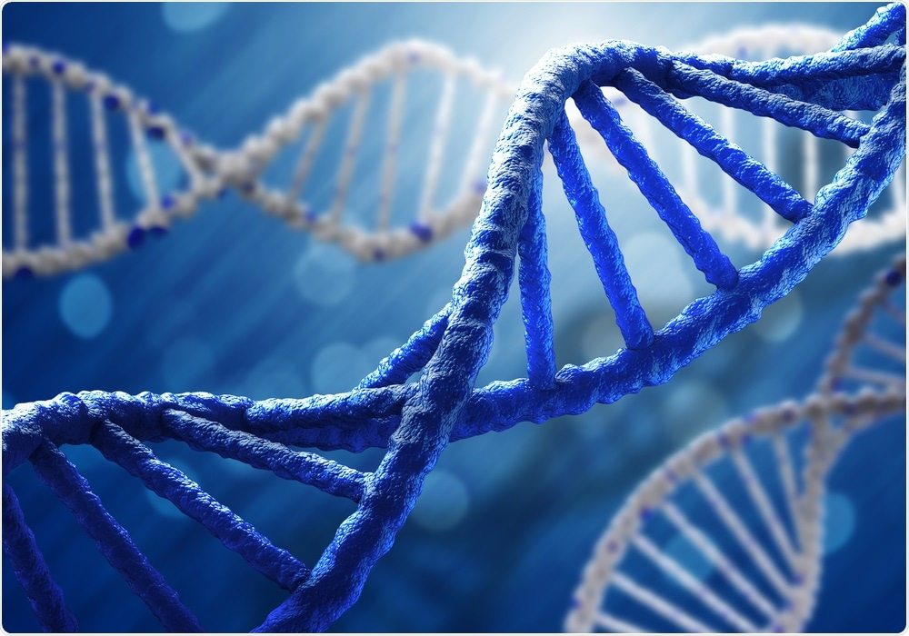 Genetic factors show strongest link to autism spectrum disorder - this image shows DNA.