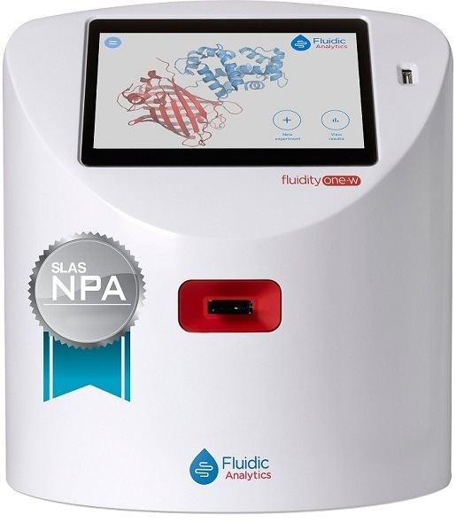 Fluidic Analytics' game-changing protein analysis technology wins SLAS new product award