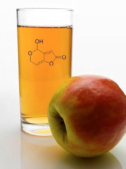 Patulin contamination in apple juice