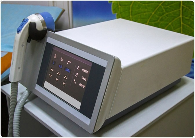 Shockwave therapy device. Image Credit: Cholpan / Shutterstock