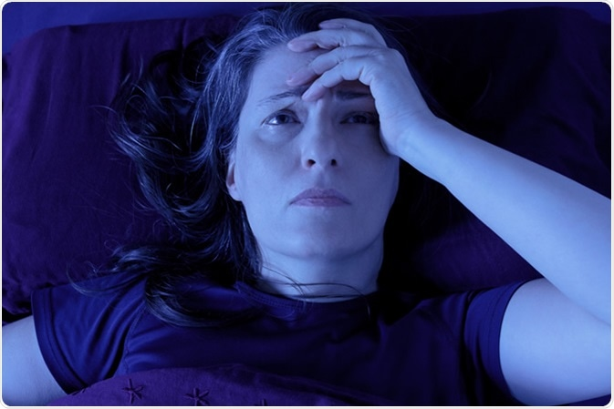The symptoms that commonly affect patients with fibromyalgia syndrome include pain, sleep problems, stiffness (especially after rest in the morning), fatigue, bowel upset (irritable bowel syndrome), depression, headaches etc. The pain and the symptoms of the condition tend to last a life time in most patients.. Image Credit: Agenturfotografin / Shutterstock
