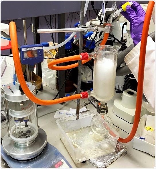 DrySyn Spiral Evaporator helps streamline synthetic organic methods development
