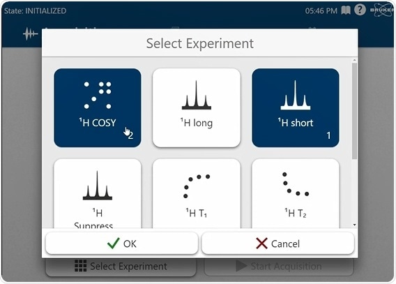 Bruker introduz a próxima geração 80 sistema do benchtop FT-NMR do megahertz