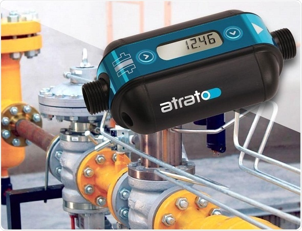 Easy-to-clean ultrasonic flowmeter for laboratory applications