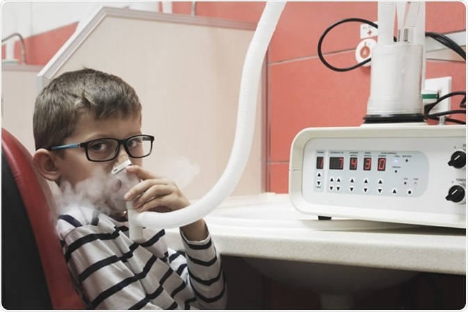Asthma immunotherapy in clinic. Image Credit: Artur_eM / Shutterstock