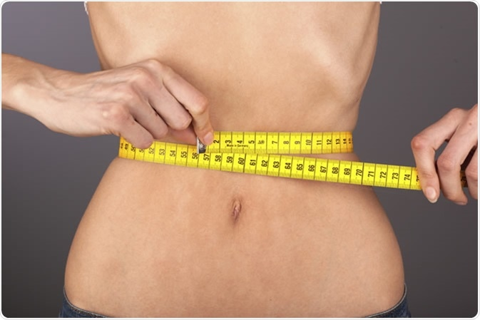 Anorexic woman. Image Credit: Westend61 / Shutterstock