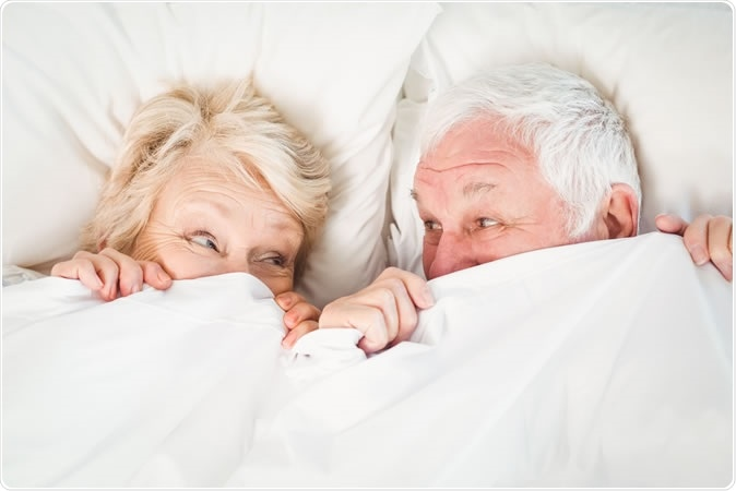 Sexual Activity is Associated with Greater Enjoyment of Life in Older Adults. Image Credit: Wavebreakmedia / Shutterstock