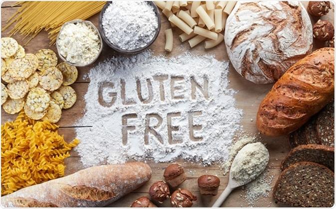 Le gluten libèrent. Crédit d