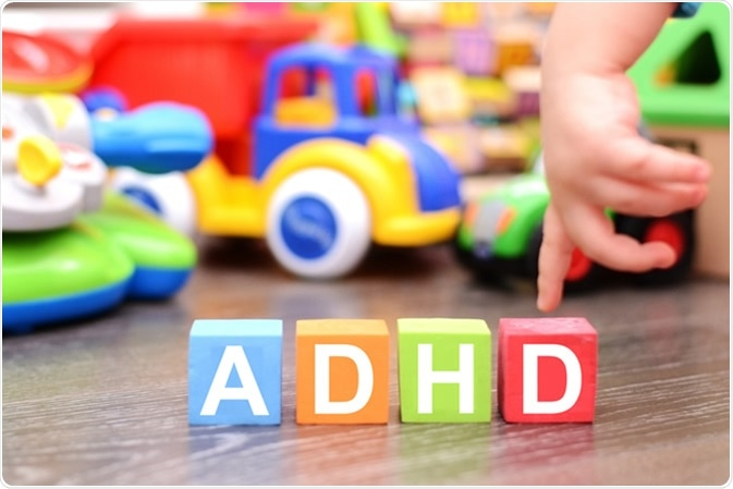 Attention Deficit Hyperactivity Disorder or ADHD. Image Credit: Eviart / Shutterstock