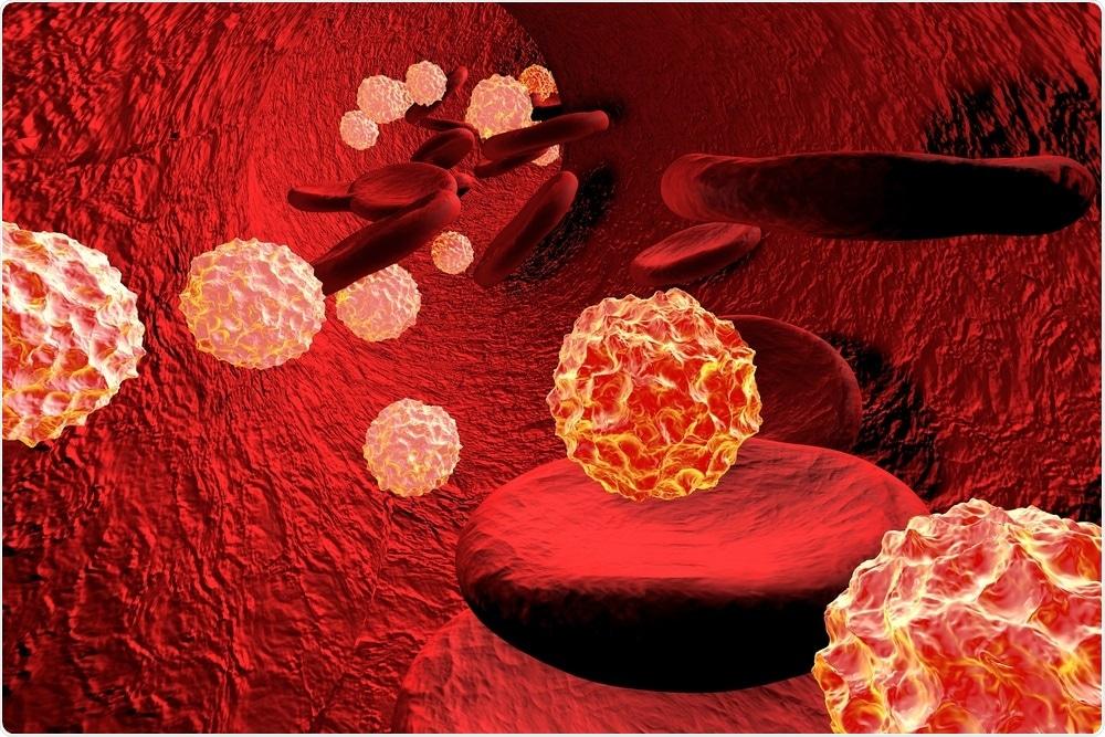 HIV in bloodstream