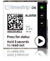 Timestrip launches compact electronic temperature breach indicators