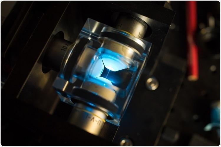 microscópio da Super-definição