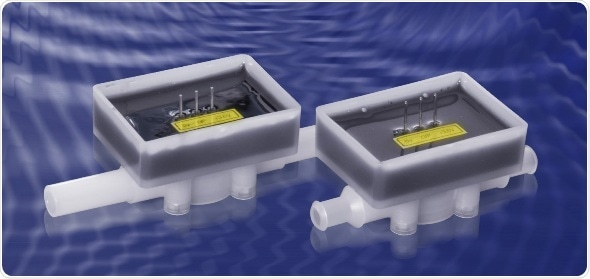 Débitmètre de turbine conçu pour le matériel à piles ou portatif