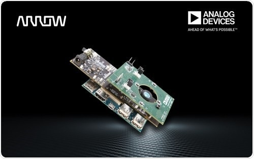 Arrow unveils new proof-of-concept design incorporating Analog Devices