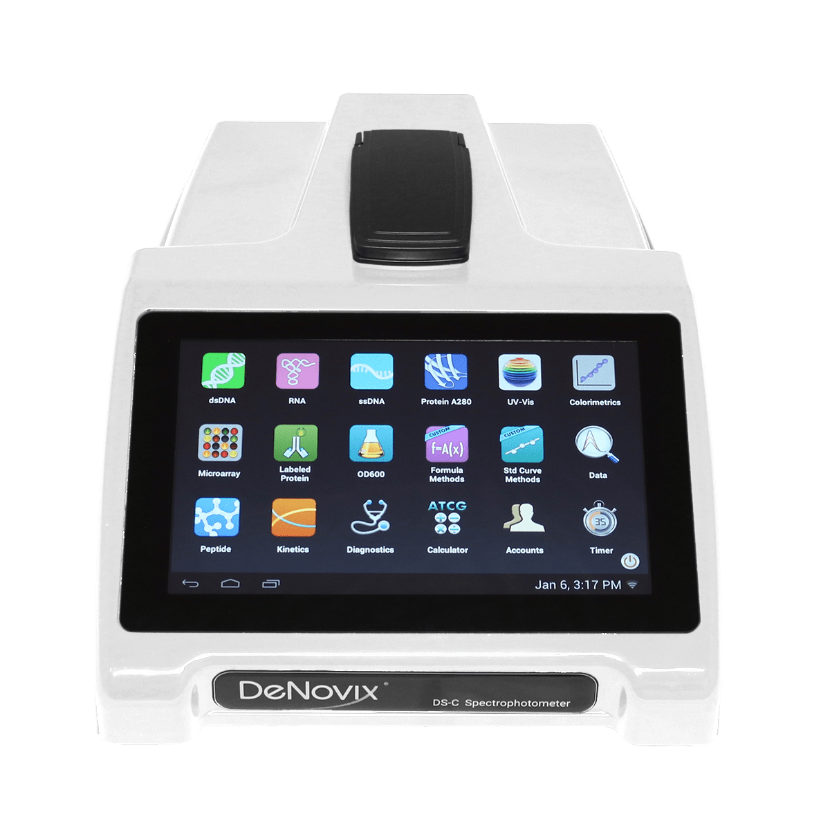 DS-C Cuvette Spectrophotometer from DeNovix
