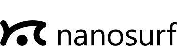 Nanosurf Inc. logo.