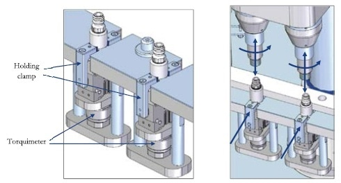 Sophisticated filling machines such as the MI-O can offer a screw torque monitoring system using strain gauges to provide application torque data for all products.