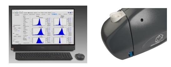Dynamic image/particle shape analyzer