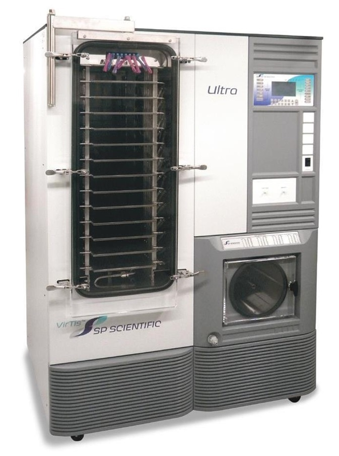SP Scientific ultra pilot and small production freeze dryer