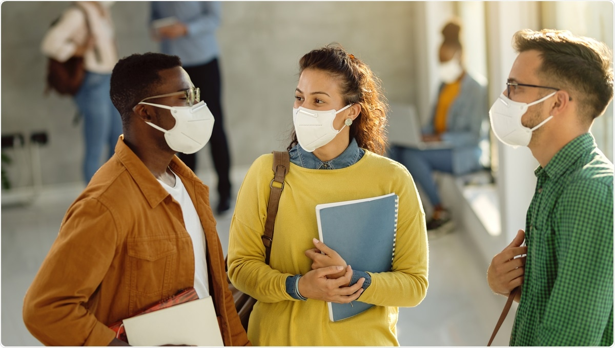 Study: Contacts and behaviours of university students during the COVID-19 pandemic at the start of the 2020/21 academic year. Image Credit: Drazen Zigic / Shutterstock