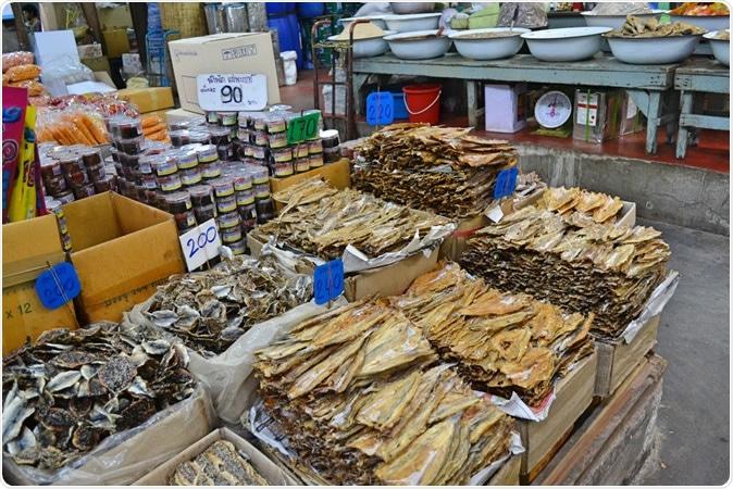 Mercato dei frutti di mare di Huanan. Credito di immagine: Pikitia/Shutterstock