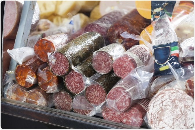 Deli meats. Image Credit: Tyler Olson / Shutterstock