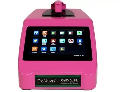 DeNovix to give away special edition pink CellDrop™ Automated Cell Counter