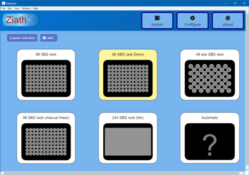 Ziath DP5: 2D Rack Decoding Software