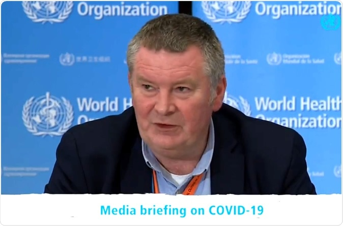 Mike Ryan. @DrMikeRyan - Executive Director of WHO Health Emergencies Programme.