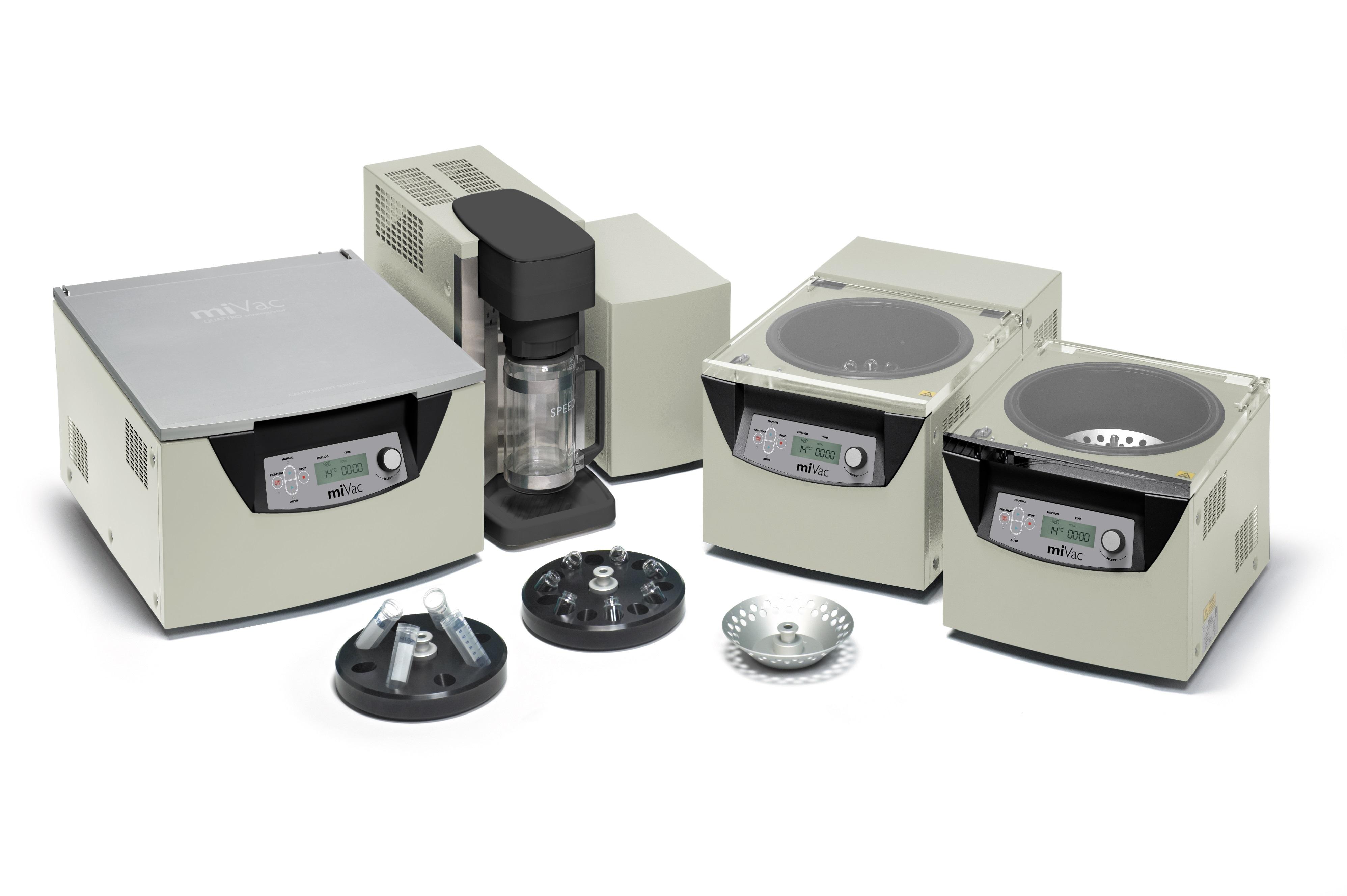 miVac Centrifugal Vacuum Sample Concentrators