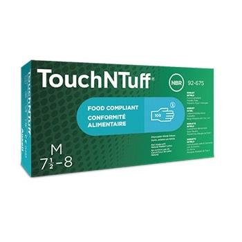 TouchNTuff® 92-675: Disposable Nitrile Gloves
