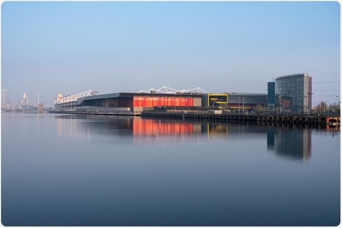 Excel London Conference Centre in London Docklands. Image Credit: Steve Heap / Shutterstock