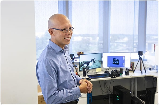 Albert Hsiao, MD, PhD, associate professor of radiology at UC San Diego School of Medicine and radiologist at UC San Diego Health, and team developed a machine learning algorithm that allows radiologists to use AI to enhance their own abilities to spot pneumonia on chest X-rays.